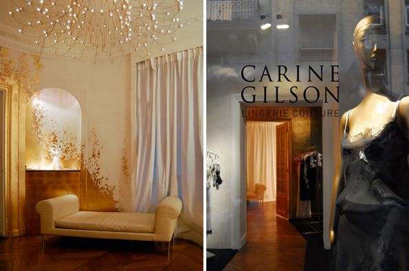 Carine Gilson Lingerie Couture Hipshops In Paris